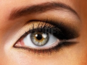 Eye makeup for different eye shapes