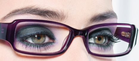 makeup tip for women who wear glasses