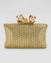 Clutch to match bridal outfit