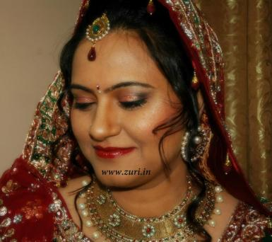 Bridal makeup by Samaanta