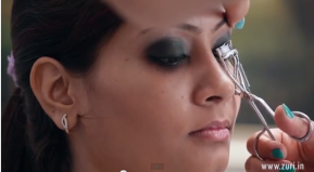 Curling lashes - how to do wedding or bridal makeup at home