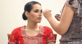 how to do wedding or bridal makeup at home