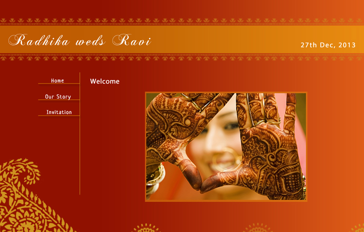 What\'s all the fuss about Wedding Websites?   Indian Makeup and ...