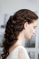 Bridal Indian hairstyle
