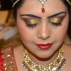 Bridal makeup by Zuri 28