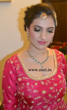 Bridal makeup by Zuri 19
