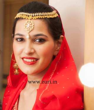 Bridal makeup by Zuri