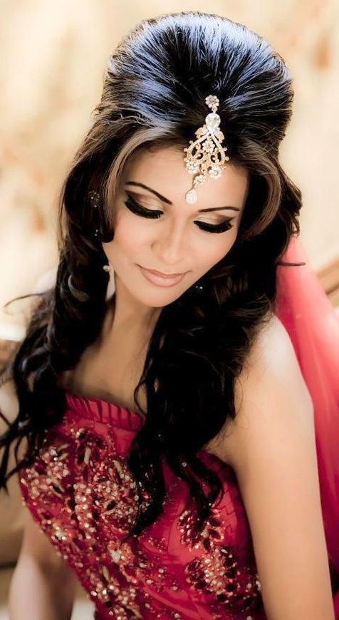Top Indian Bridal Hairstyles Indian Makeup And Beauty Blog Beauty