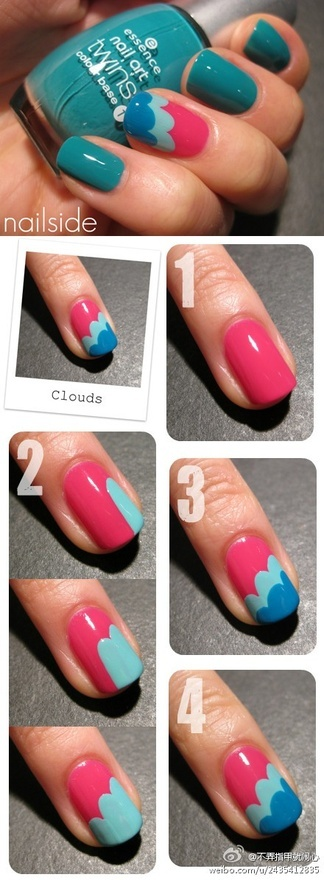 Simple Nail Art Designs Step By Step For Short Nails ~ Nails styles pk