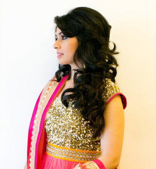 Enjoyable 21 Gorgeous Indian Bridal Hairstyles Indian Makeup And Beauty Short Hairstyles Gunalazisus