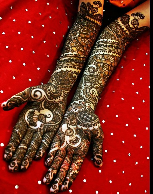 30 Stunning mehandi designs for indian brides | Indian Makeup and ...