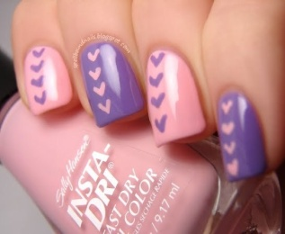 nail art designs at home
