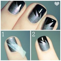 Nail Art Designs Step By