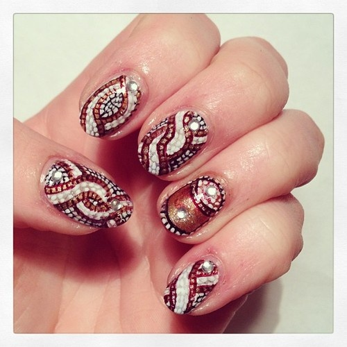 Wedding Nail Art Designs Gallery: 15 Bridal Nail Art Designs