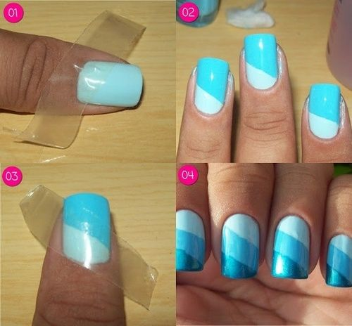 Nail Art Design Procedures Nail Art Designs Step by Step
