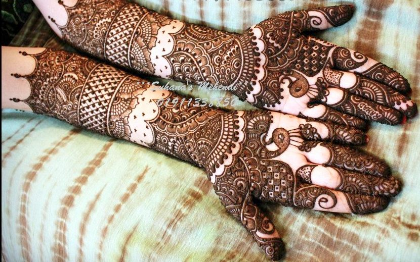 Mehandi Designs For Indian Brides Indian Makeup And Beauty Blog