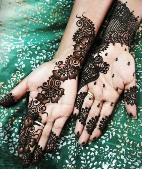 Modern Arabic Mehndi Designs 2014 : Modern arabic mehndi designs for hands zuri