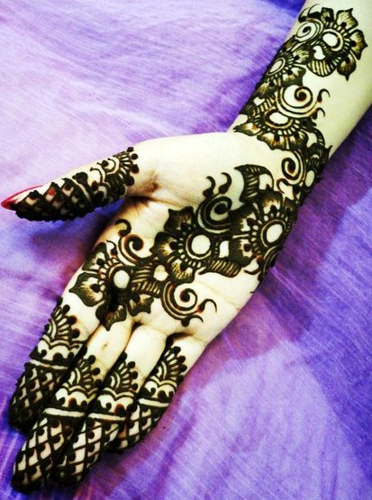 15 modern arabic mehndi designs for hands – 2013 | Indian Makeup and ...