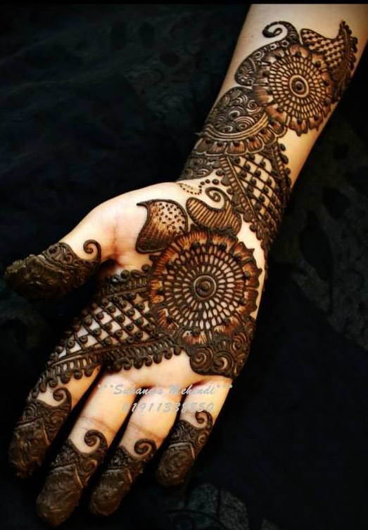 Arabian Mehndi Style : Modern arabic mehndi designs for hands indian