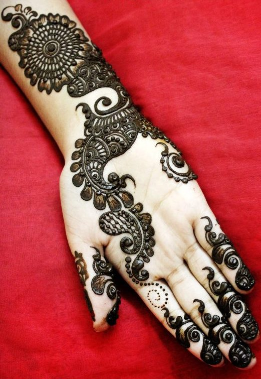 15 modern arabic mehndi designs for hands – 2013 | Indian ...