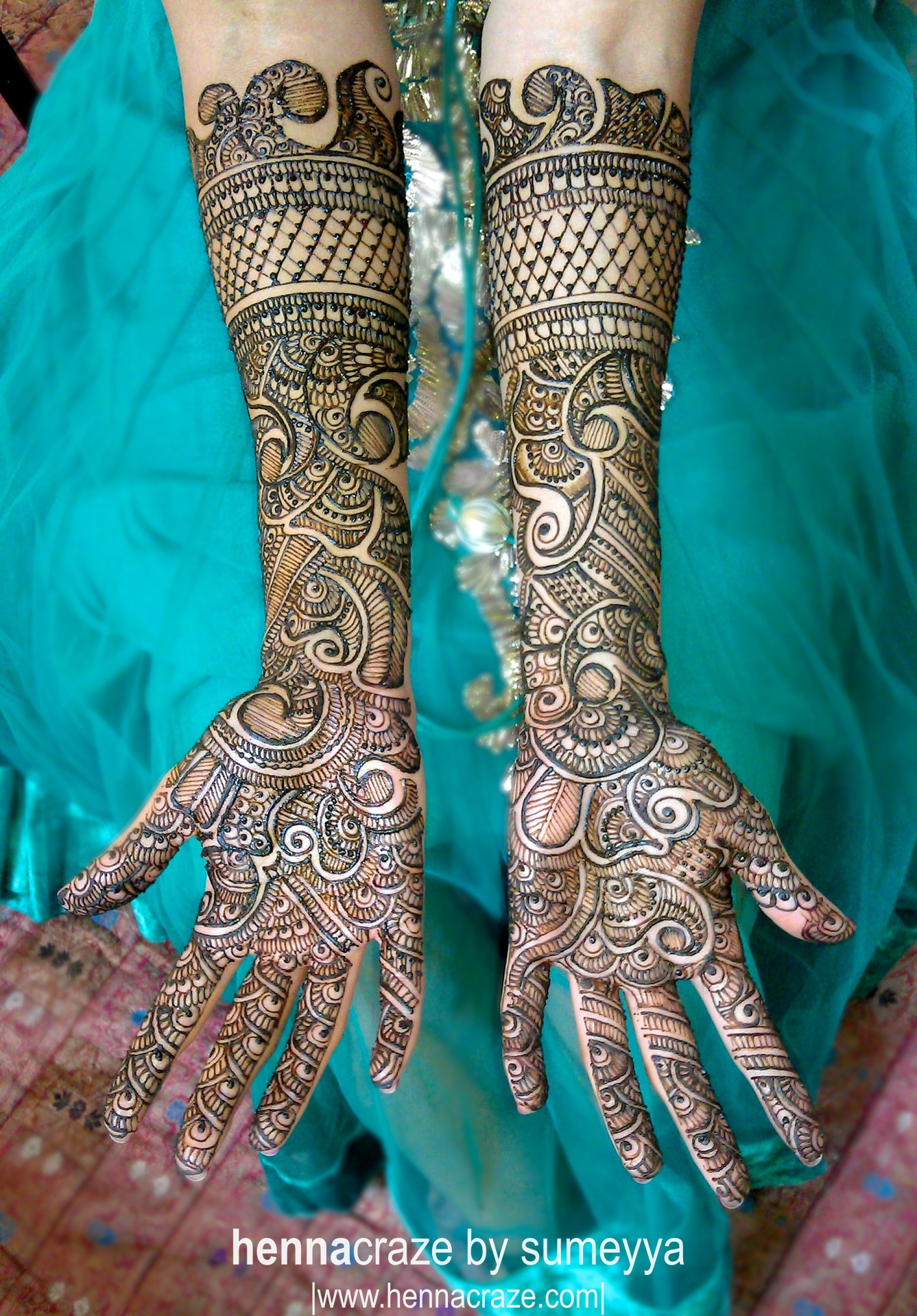 Mehndi Images For Bridal : Bridal mehndi designs for hands indian makeup and
