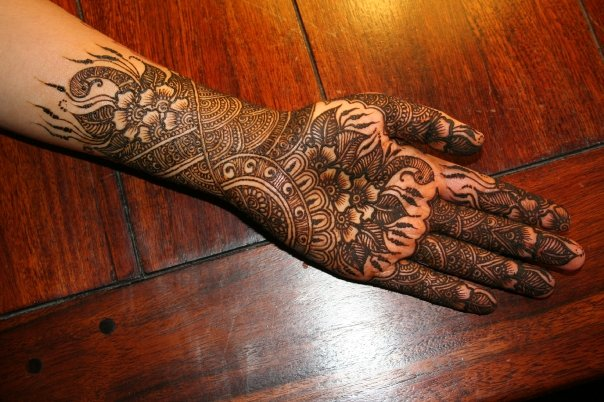 Karvachauth Mehandi Designs 02  Indian Makeup And Beauty