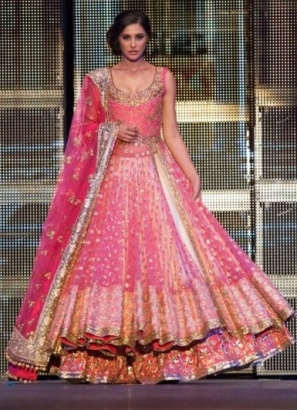 Indian manish malhotra lehenga