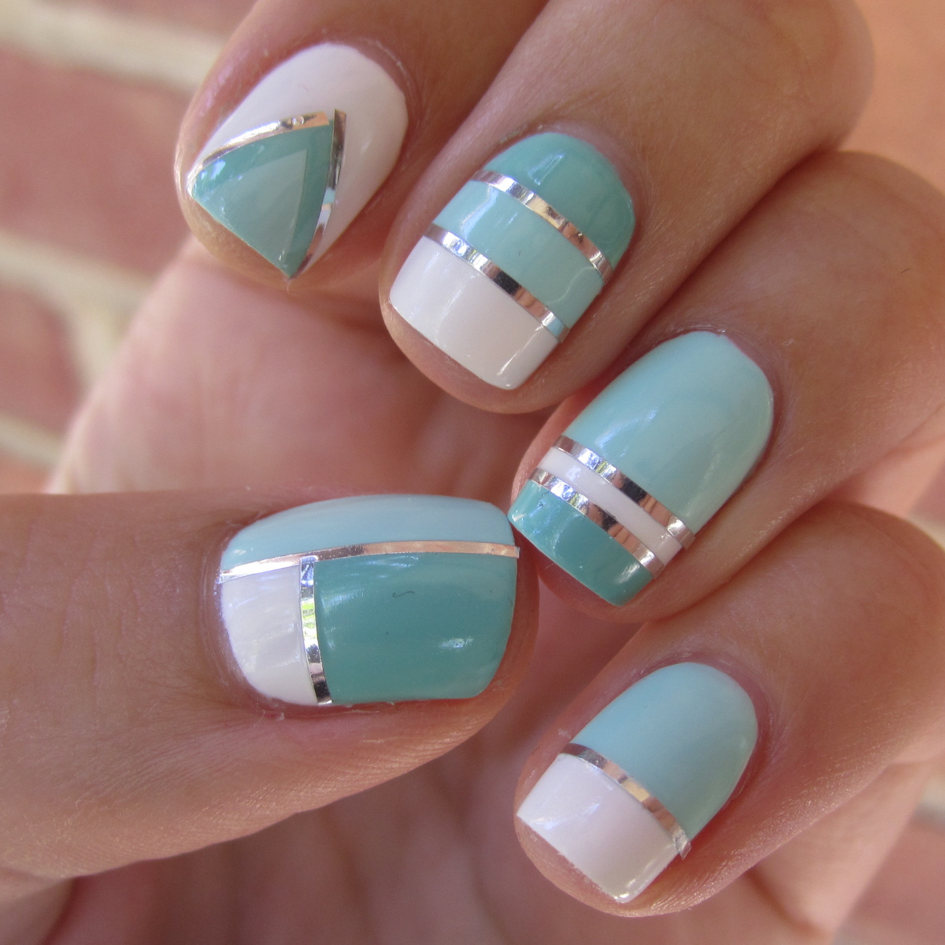 Try These Simple Nail Art Designs At Home Indian Makeup And - At home nail art designs for beginners