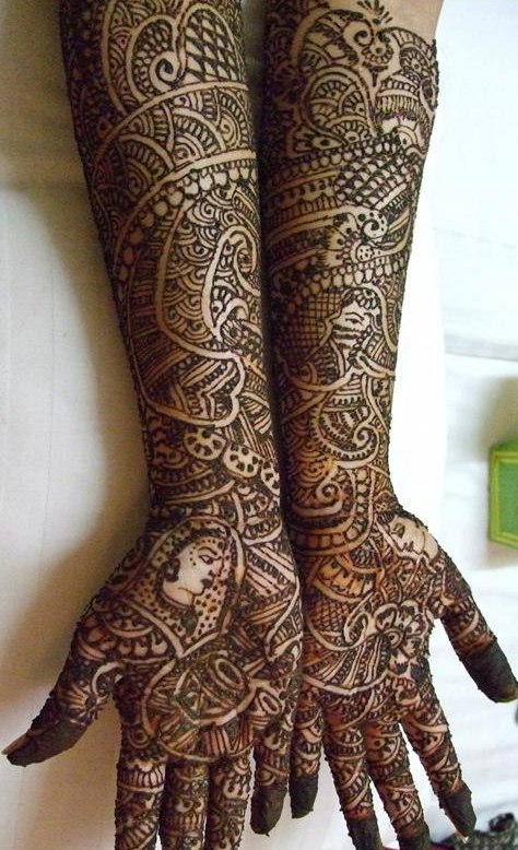 Top Bridal Mehendi Designs