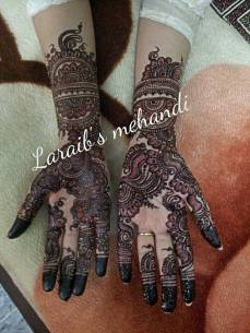 Bridal mehndi designs 10