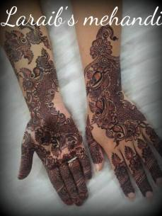Bridal mehndi designs 11