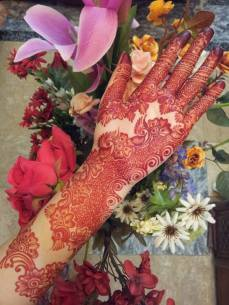 Bridal mehndi designs 12