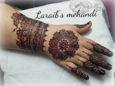 Bridal mehndi designs 14