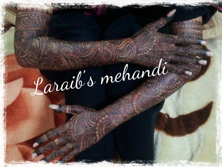 Bridal mehndi designs 17