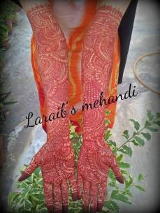 Bridal mehndi designs 19