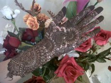 Bridal mehndi designs 20