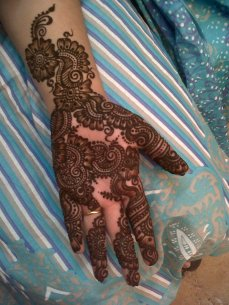 Bridal mehndi designs 21