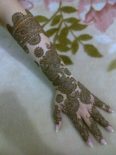 Bridal mehndi designs 24