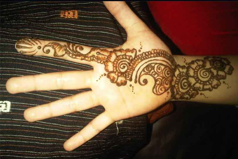Mehndi Designs For Hands Very Simple : Download easy mehndi designs for hands makedes