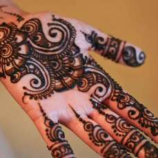 56 Easy Mehndi Designs For Hands Indian Makeup And Beauty Blog