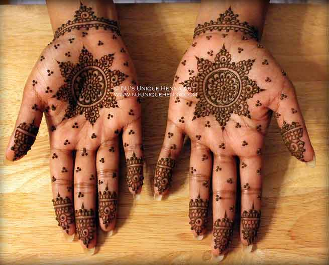 Quick Mehndi Patterns : Easy mehndi designs for hands indian makeup and