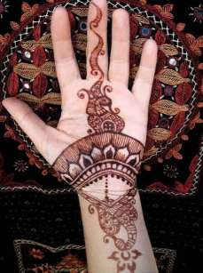 easy mehndi designs for hands 10