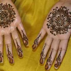 easy mehndi designs for hands 14