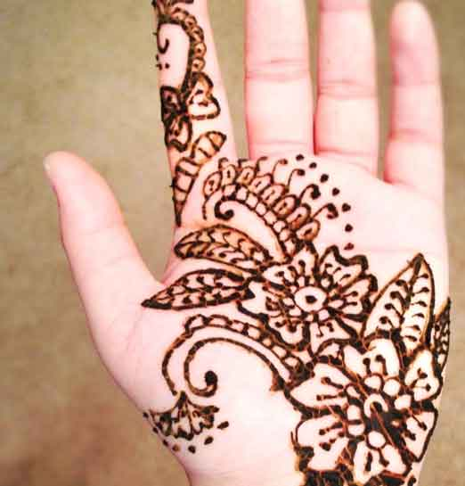 Hand Mehndi Easy Design : Easy mehndi designs for hands indian makeup and