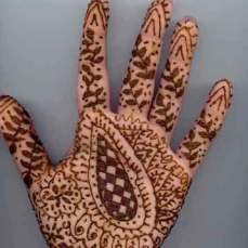 easy mehndi designs for hands 20