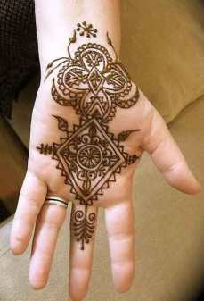 easy mehndi designs for hands 21