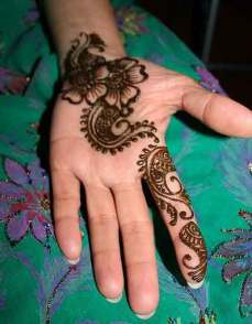 easy mehndi designs for hands 23