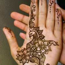 easy mehndi designs for hands 25
