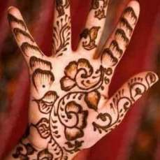 easy mehndi designs for hands 33