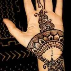 easy mehndi designs for hands 40